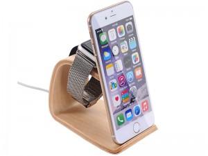 پایه نگهدارنده چوبی اپل واچ مدل SamDi
