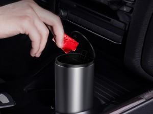 سطل زباله بیسوس مدل Car trash Can مناسب برای خودرو