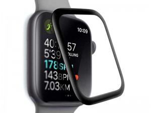 محافظ صفحه نمایش تمام چسب پرودو مدل 3D Curved Tempered Glass مناسب برای ساعت هوشمند اپل واچ 44mm