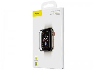 محافظ صفحه نمایش تمام چسب بیسوس مدل Screen Protector مناسب برای ساعت هوشمند اپل واچ 40mm