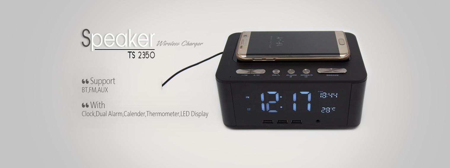 اسپیکر چندکاره بلوتوثی TSCO TS-2350 + شارژ بیسیم