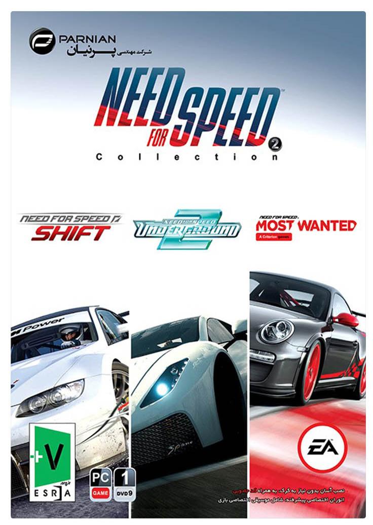 سی دی بازی های کامپیوتری نید فور اسپید Need for Speed Collection 2