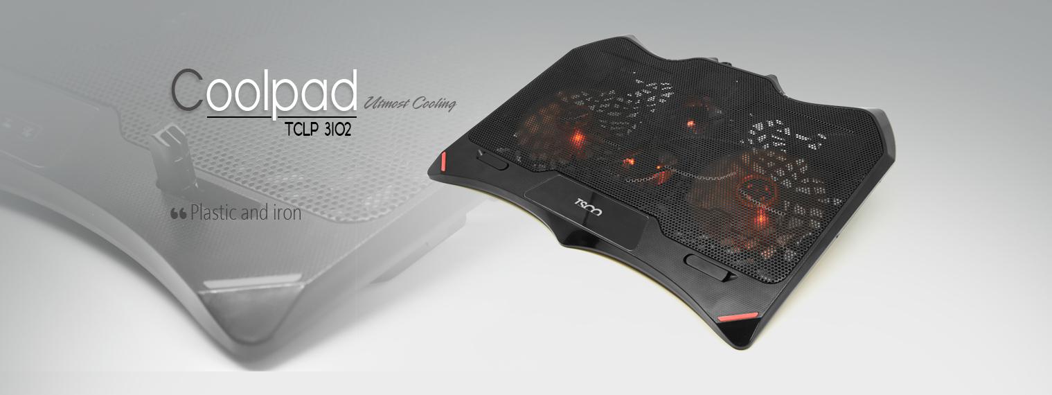 پایه خنک کننده لپ تاپ تسکو مدل TCLP 3102