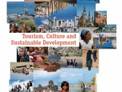 Tourism, Culture And Sustainable Development