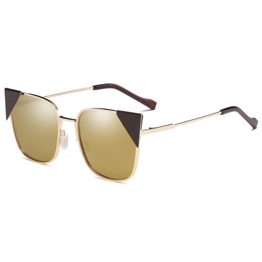 عینک آفتابی مدل 0850-Blsq-Brn