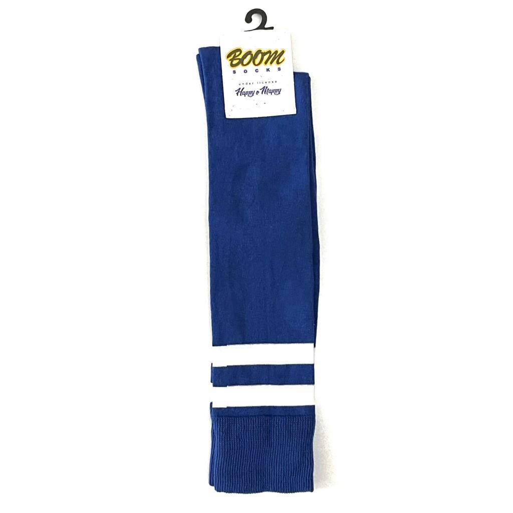 جوراب زیر زانو آبی