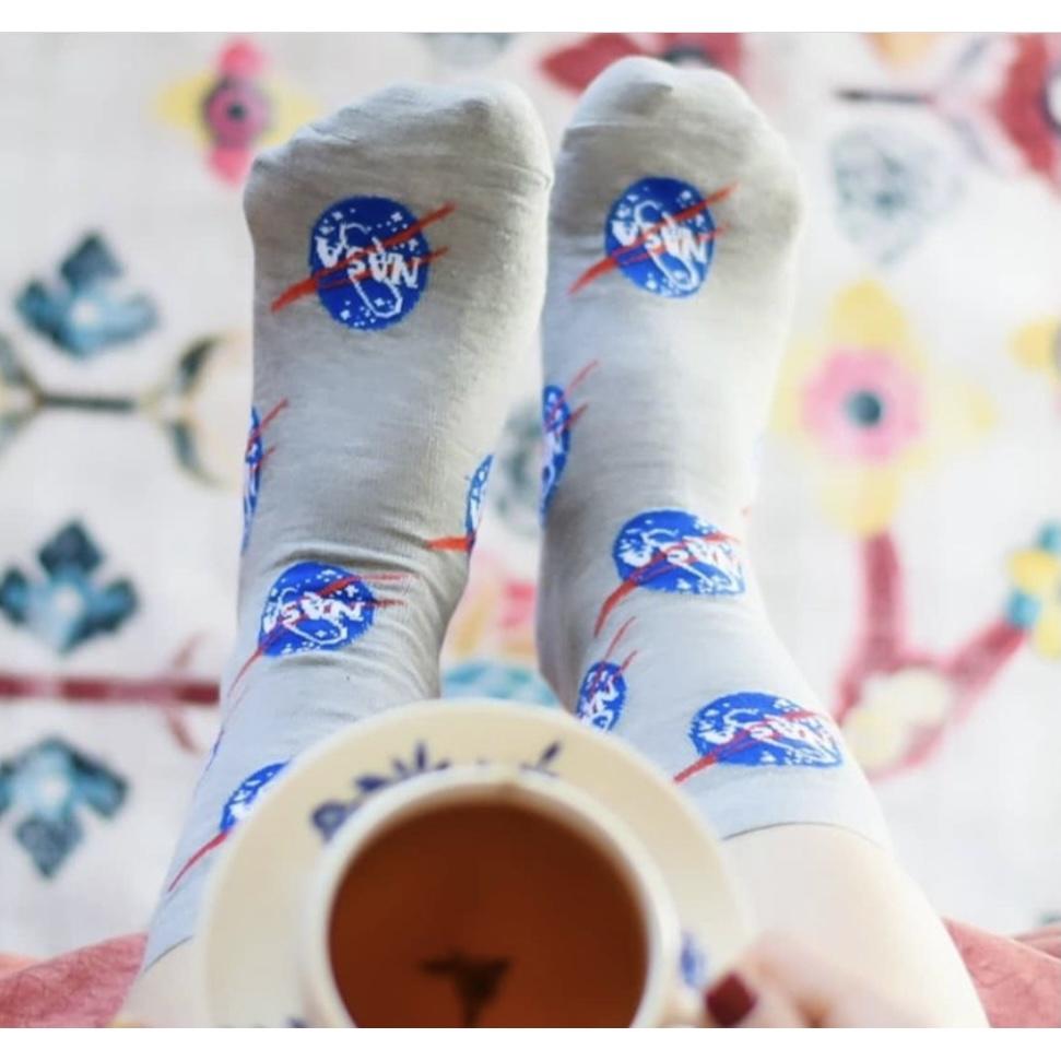 جوراب ساقدار Nasa-Gry