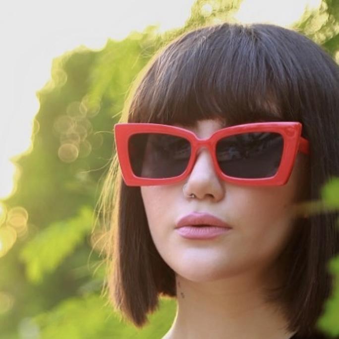 عینک آفتابی مدل Tron-Red