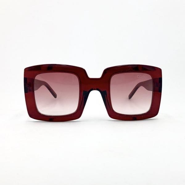 عینک آفتابی مدل Square-Maroon