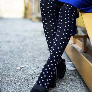 جوراب زیر زانو طرح Dot
