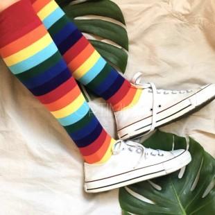 جوراب زیر زانو Rainbow