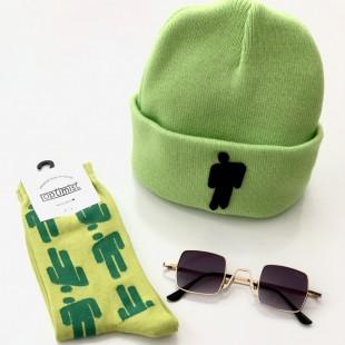 مجموعه سه عددی کلاه و جوراب و عینک Grn-01