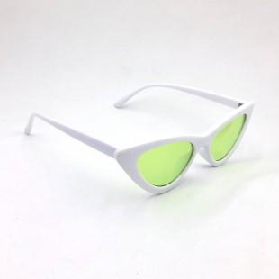 عینک آفتابی مدل Eyecat-Wht-Grn