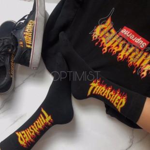 جوراب ساقدار طرح Thrasher