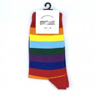 جوراب ساقدار رنگین کمان
