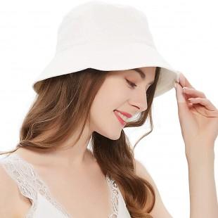کلاه باکت سفید مدل Bucket-Hat-Wht