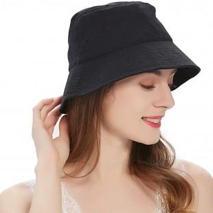 کلاه باکت مشکی مدل Bucket-Hat-Blc