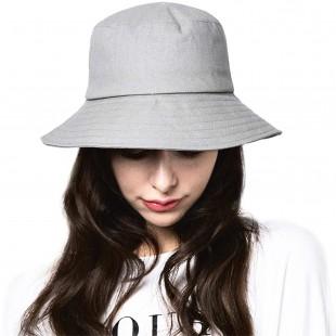 کلاه باکت طوسی مدل Bucket-Hat-Gry