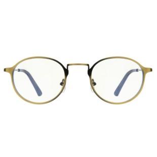 فریم عینک طبی با عدسی بلوکات مدل W1610_Ylo