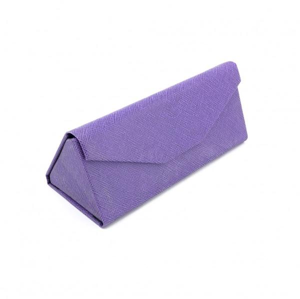 قاب مثلثی تاشو، بنفش