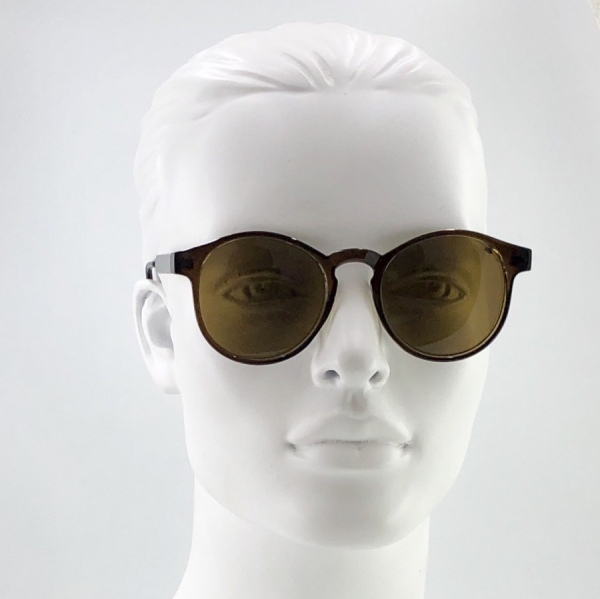 عینک آفتابی مدل half iron brown