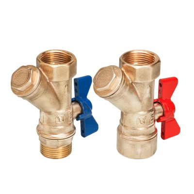 BRASS FILTER BALL VALVES