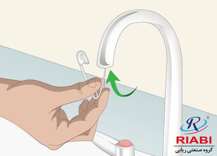 Use a toothbrush or safety pin to unclog spray holes