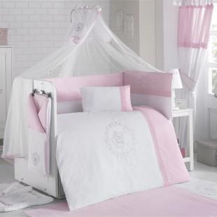 سرویس روتختی 9 تکه Baby Pink