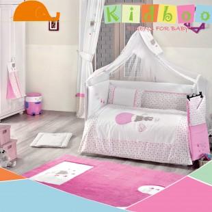 سرویس روتختی 9 تکه Cute Bear Pink