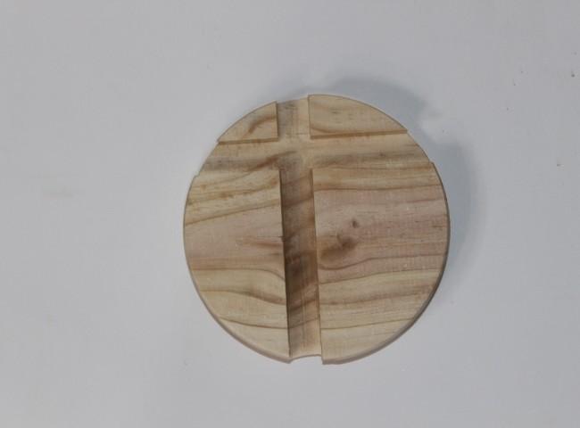 هولدر موبایل گرد چوبی روکش دار کد 120