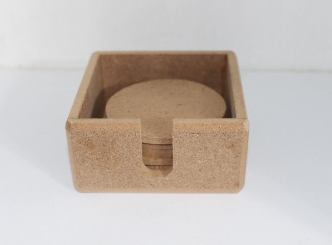 زیرلیوانی باکس دار کد005 ابعاد10/10