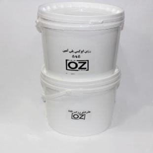 رزین اپوکسی OZ شفاف ایتالیا حلب 12KG قیمت عمده خرید چوب زیورالات قالب