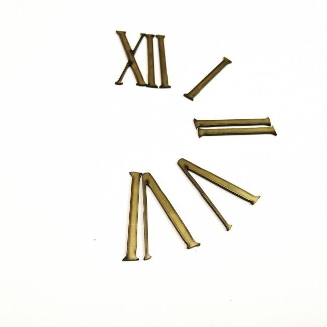 اعداد ساعت یونانی طلایی