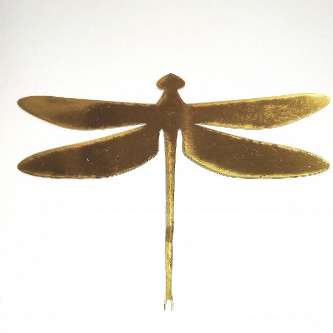 استیکر سنجاقک بال طلایی  8