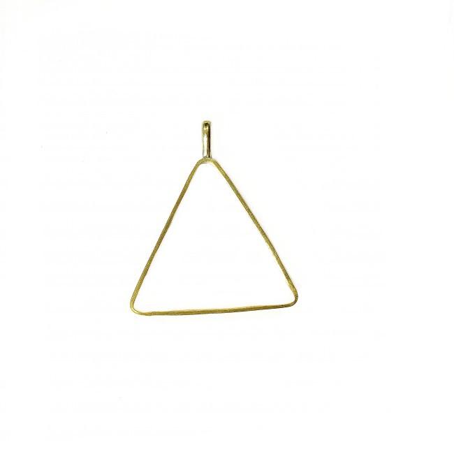 قالب آویز مثلث برنجی بزرگ  54