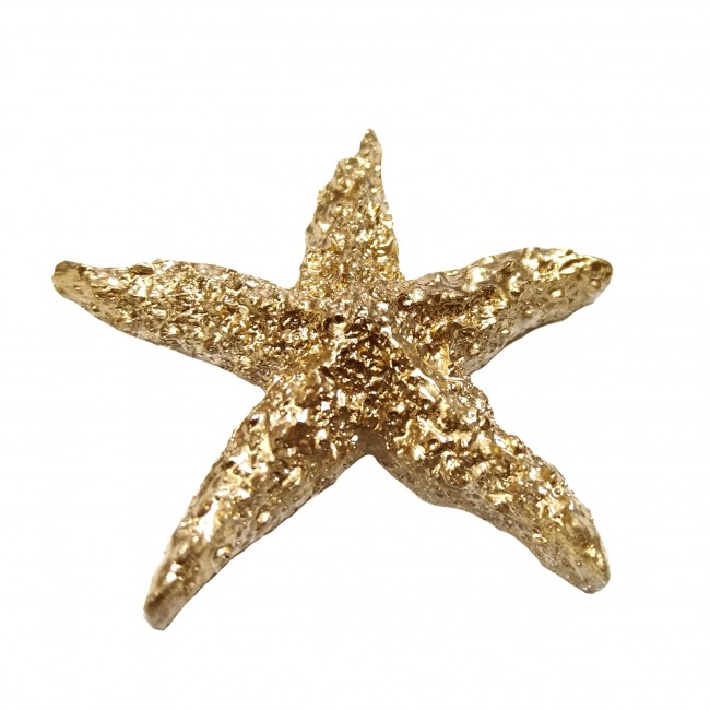 آنتیک مجسمه ستاره رزین طلایی  07  (باقابلیت رنگ پذیری)
