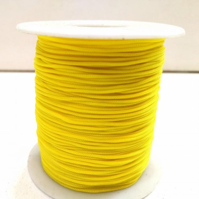دستبند نخی زرد روشن ( 2 متری )