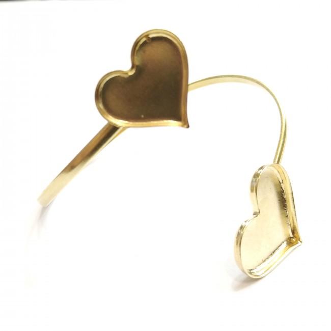 دستبند دوقلو قلبی 76