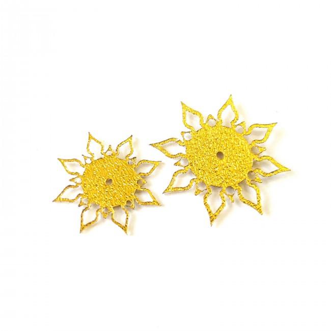 نماد طلایی گل اشرفی 51