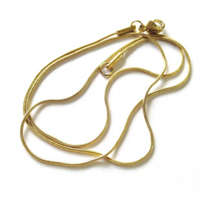 زنجیر ماری طلایی (رنگ ثابت)