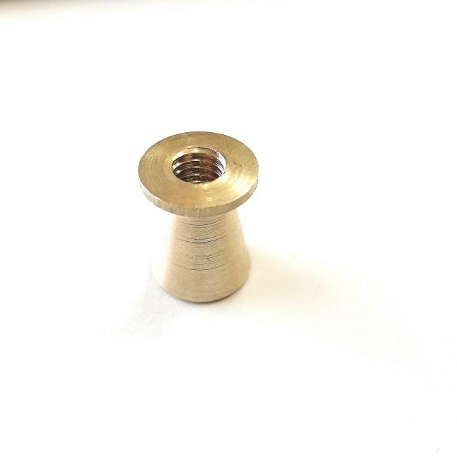 پایه مخروطی طلایی کوچک