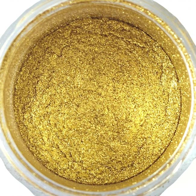 پودری پیگمنت اپوکسی صدفی طلایی روشن کد 123
