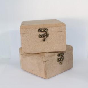 جعبه چوبی قفل دار 10 سانتی