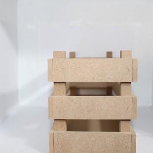 جعبه باکس هدیه کد008 ابعاد30در10