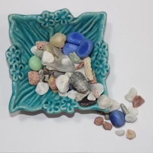 سنگ طبیعی رنگارنگ