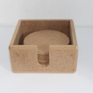 زیرلیوانی باکس دار کد 005