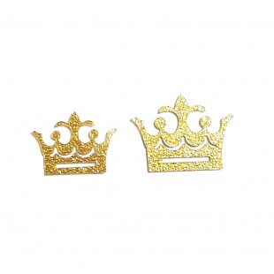 نماد طلایی تاج پادشاه 35