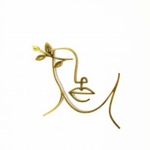 استیکر چهره  گل زینتی  32