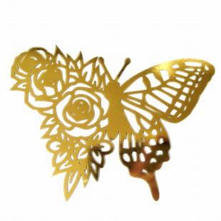 استیکر گل پروانه ای 45