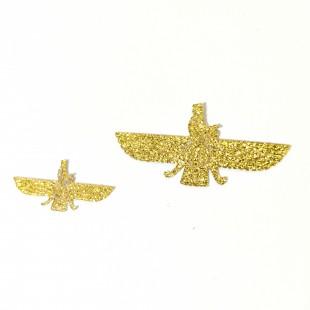 نماد طلایی فروهر کد  11